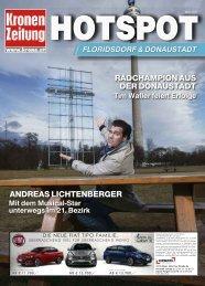 Hotspot Floridsdorf Donaustadt 2017-03-09