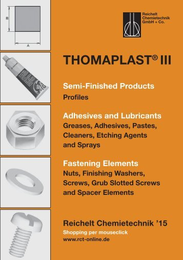RCT Reichelt Chemietechnik GmbH + Co. - Thomaplast III (EN)