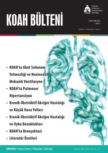 KOAH Bülteni 2012 Sayı 2