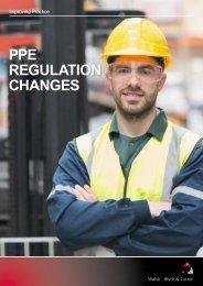 PPE REGULATION CHANGES