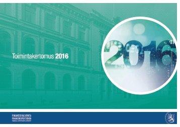 Toimintakertomus 2016