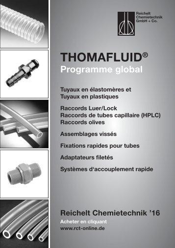RCT Reichelt Chemietechnik GmbH + Co. - Programme global (FR)