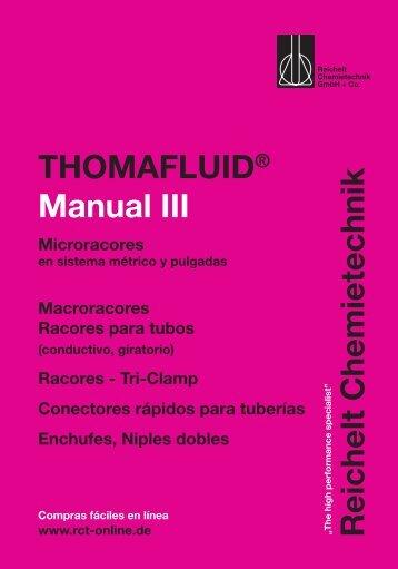 RCT Reichelt Chemietechnik GmbH + Co. - Thomafluid III (ES)