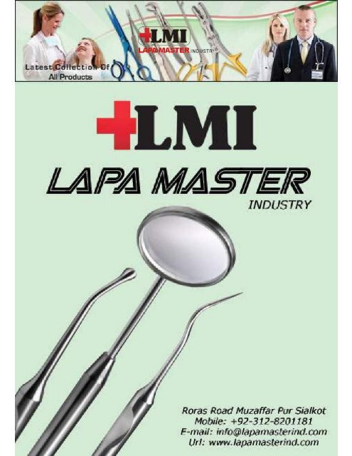 Dental instruments Catalogue PDF with price