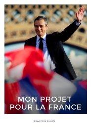 MON PROJET POUR LA FRANCE