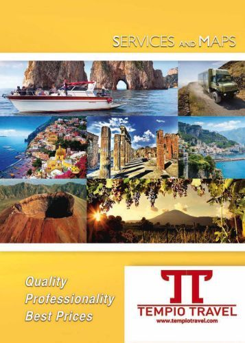 Tempio Travel  Brochure 2017