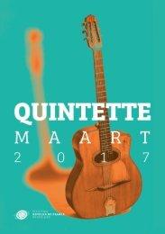 Quintette maart 2017