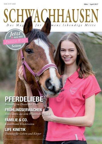 SCHWACHHAUSEN Magazin | März-April 2016