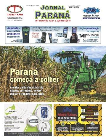 Jornal Paraná Fevereiro 2017