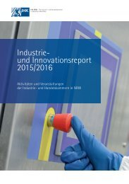 Industrie- und Innovationsreport 2016