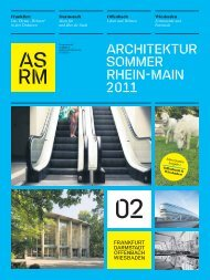 Architektursommers Rhein Main 2011 - Landeshauptstadt Wiesbaden