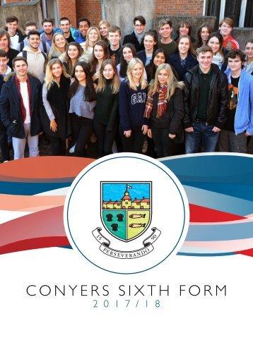Conyers Sixth Form Prospectus 2017