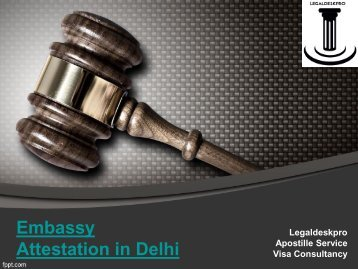 UAE Embassy Attestation in Delhi