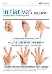 Eine Version besser - initiative*magazine #09