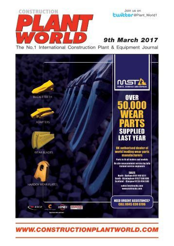 Construction Plant World 9th March 2017