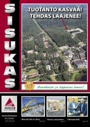 Sisukas - henkilöstölehti N:o 2/2012 - AGCO Power
