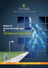 CITEL_LED-Beleuchtungsanlagen_Flyer