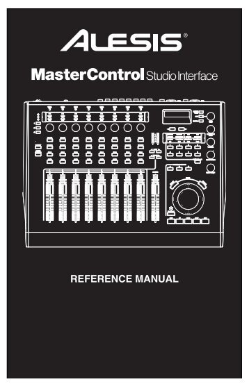 MasterControl - Reference Manual - Alesis