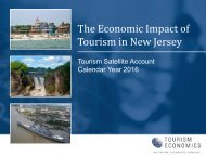 Tourism in New Jersey