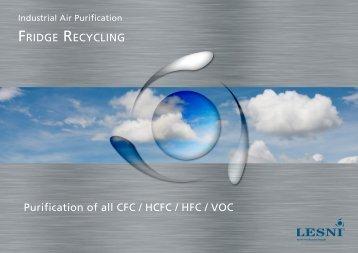 CFC Abatement Plant - Fridge Recycling