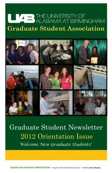 Graduate Student Association - University of Alabama at Birmingham