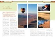Namibische Wunderwelten