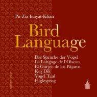 Bird Language - Die Sprache der Vögel -  Leseprobe