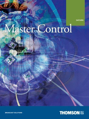 Saturn Master Control Console - Grass Valley