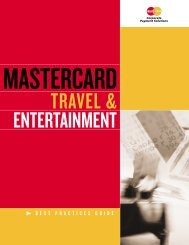 BEST PRACTICES GUIDE - MasterCard