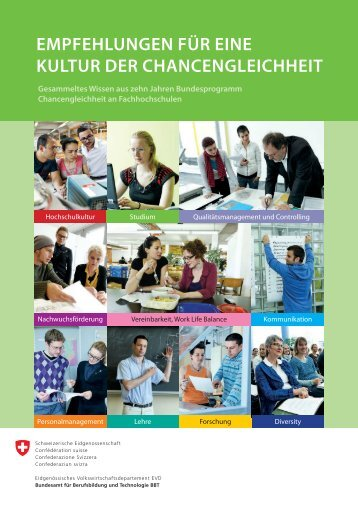Checkliste Vereinbar - Gender Campus