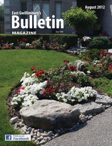 East Gwillimbury's August 2012 - The Bulletin Magazine