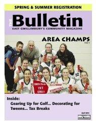 April 2010 - The Bulletin Magazine
