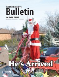 East Gwillimbury's - The Bulletin Magazine