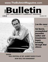 November 2010 - The Bulletin Magazine