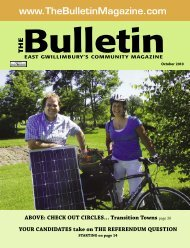 October 2010 - The Bulletin Magazine