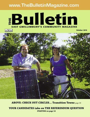 October 2010 - The Bulletin Magazine