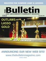 OUTLAWS LASSO GOLD - The Bulletin Magazine