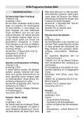Programm Herbst 2003 - Volkshochschule Rankweil - Page 4