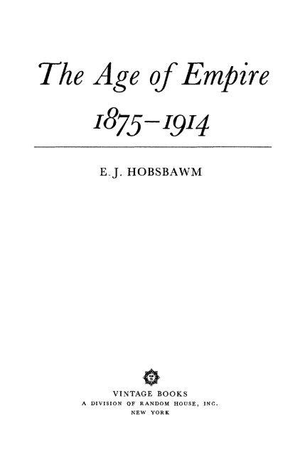 The Age Of Empire Libcom