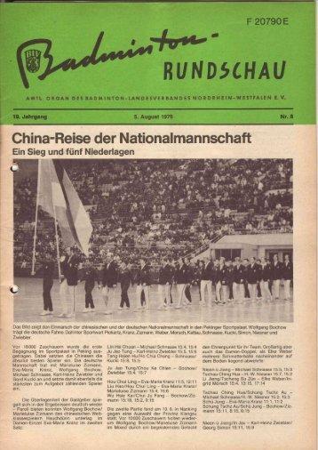 Nr. 8 August 1976  - (BLV-NRW) www