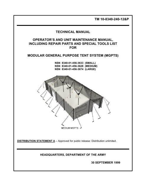 Tm 10-8340-240-12&p Technical Manual Operator - Bailey