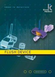 FLUSH DEVICE - Elcam Medical