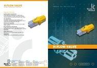 H-FLOW VALVE - Elcam Medical