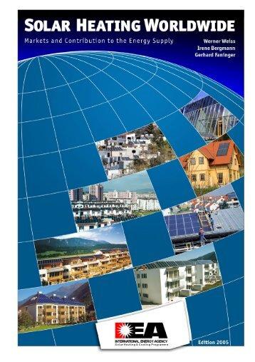 solar heating worldwide