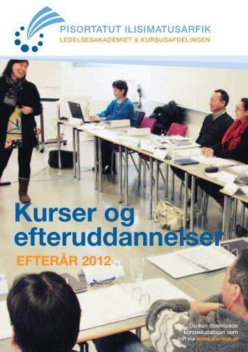 Siden sidst... - Grønlands Handelsskole