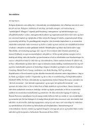 Introduktion Af Joel Haviv Religion diskuteres som aldrig før i ...