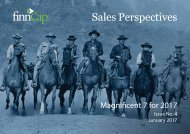 Sales Perspectives