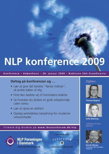 NLP konference 2009 - IBC Euroforum