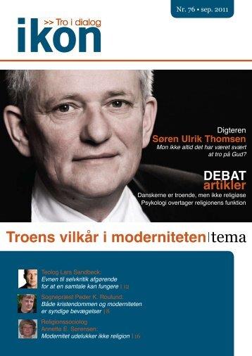 Troens vilkår i moderniteten tema - IKON - Danmark