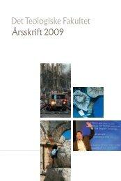Det Teologiske Fakultet Årsskrift 2009